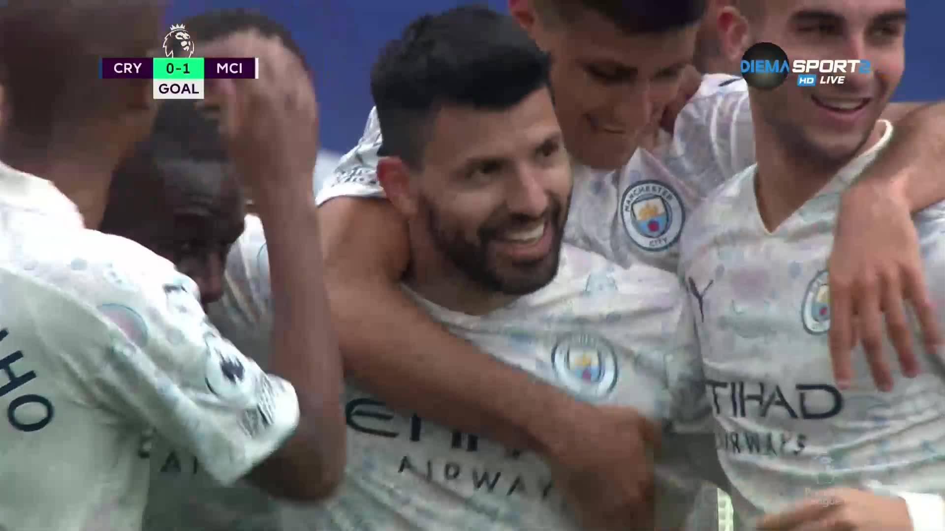 Феноменален Агуеро изведе Ман Сити напред в резултата срещу Палас