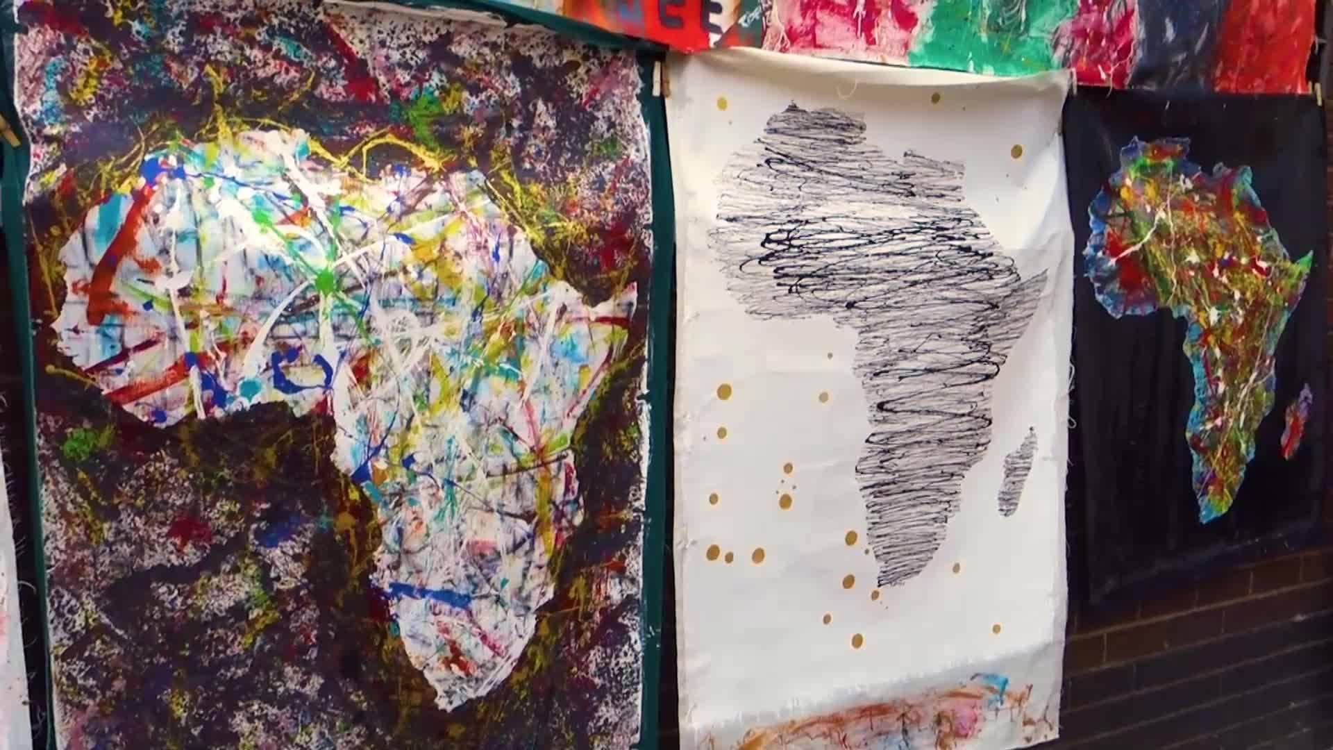 Изкуството на племето Ндебеле, Южна Африка (Без багаж еп.213 трейлър).