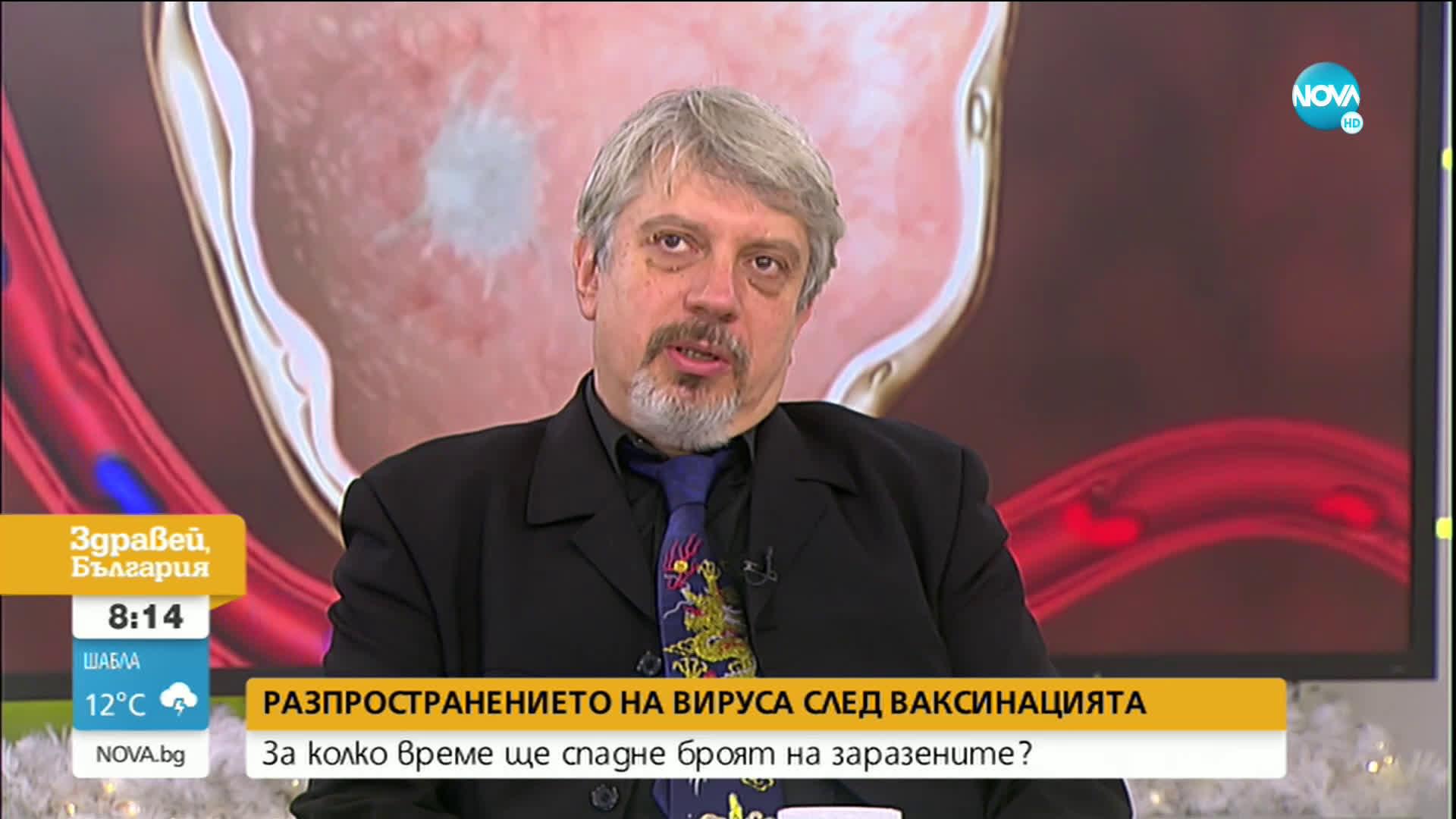 Проф. Витанов: Броят на заразените ще спадне до лятото на 2021 година