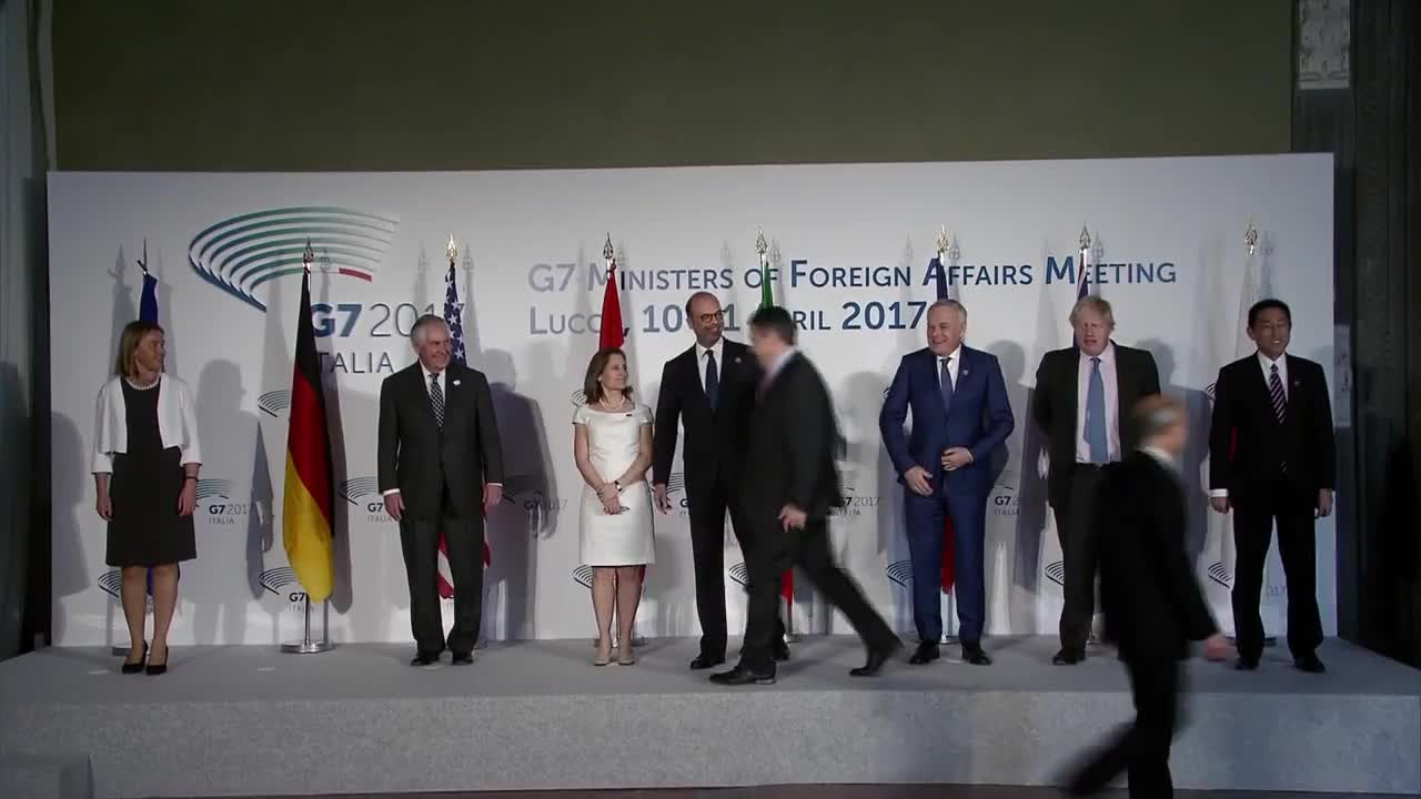Italy: Foreign ministers meet to discuss Syria at G7 talks in Lucca