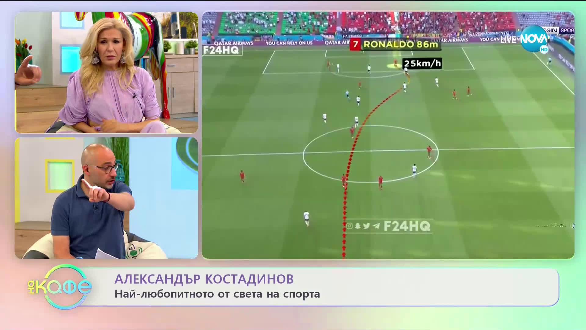 Светкавицата Роналдо изумява на UEFA EURO 2020