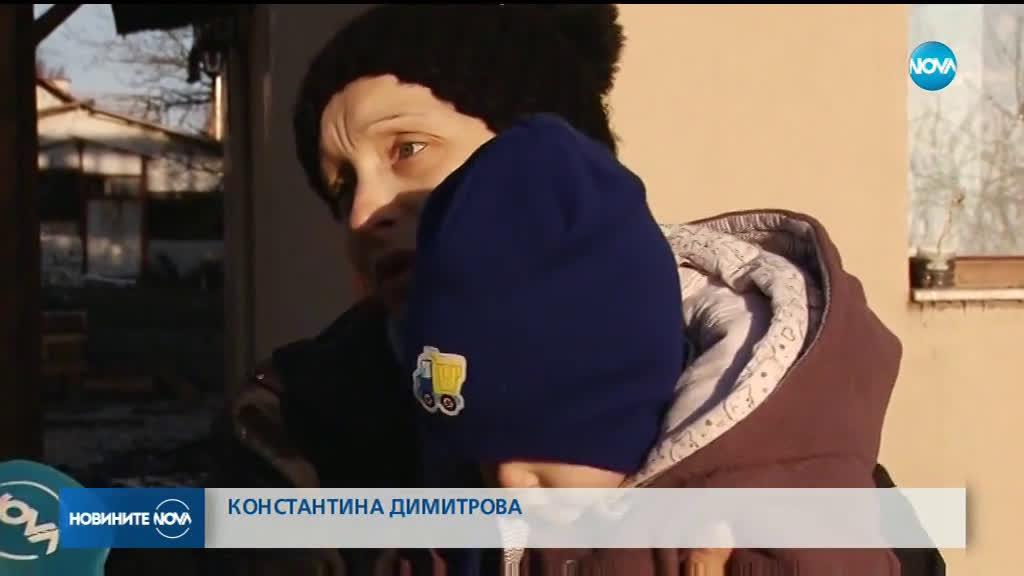 Семейство, очакващо третото си дете, остана без дом след пожар (ВИДЕО)