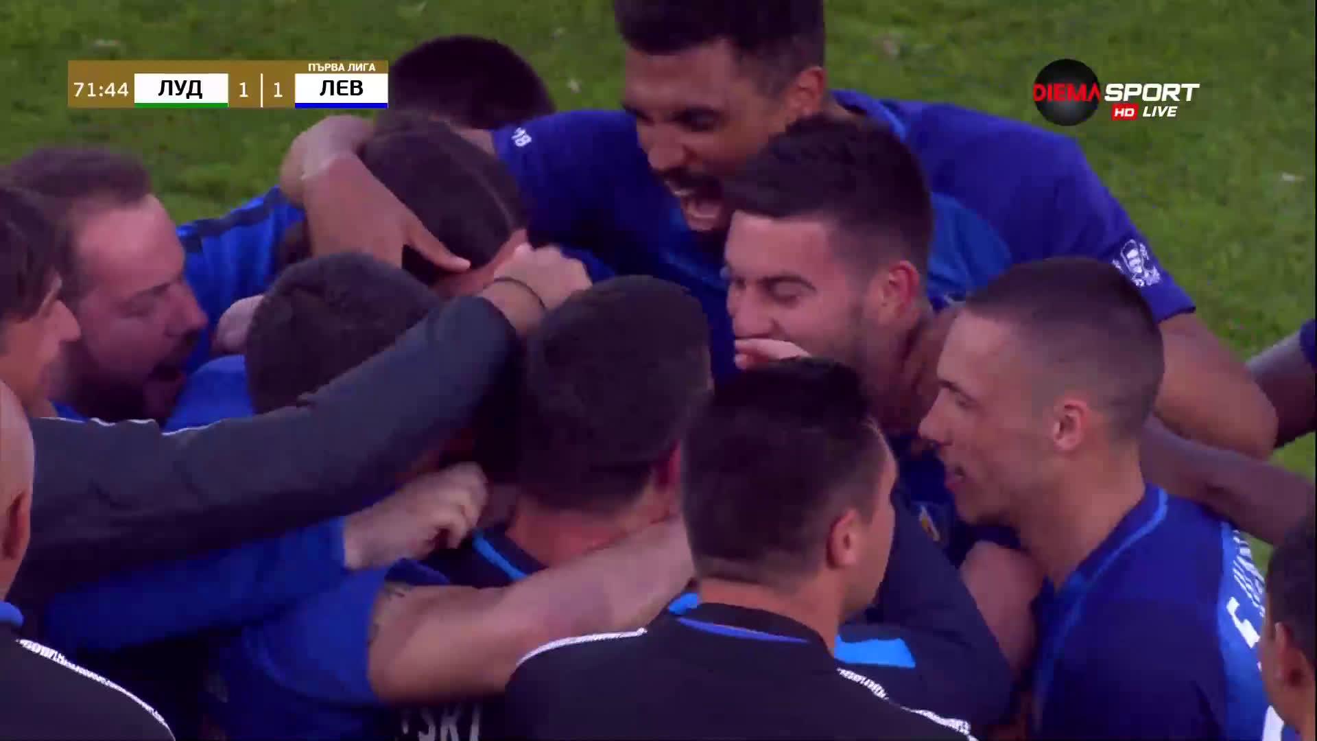 """Класен гол на Живко Миланов възстанови паритета на """"Лудогорец Арена"""""""
