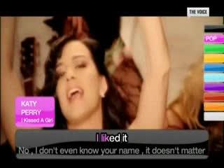 ( K A R A O K E ) Katy Perry - I Kissed A Girl [ H Q ]