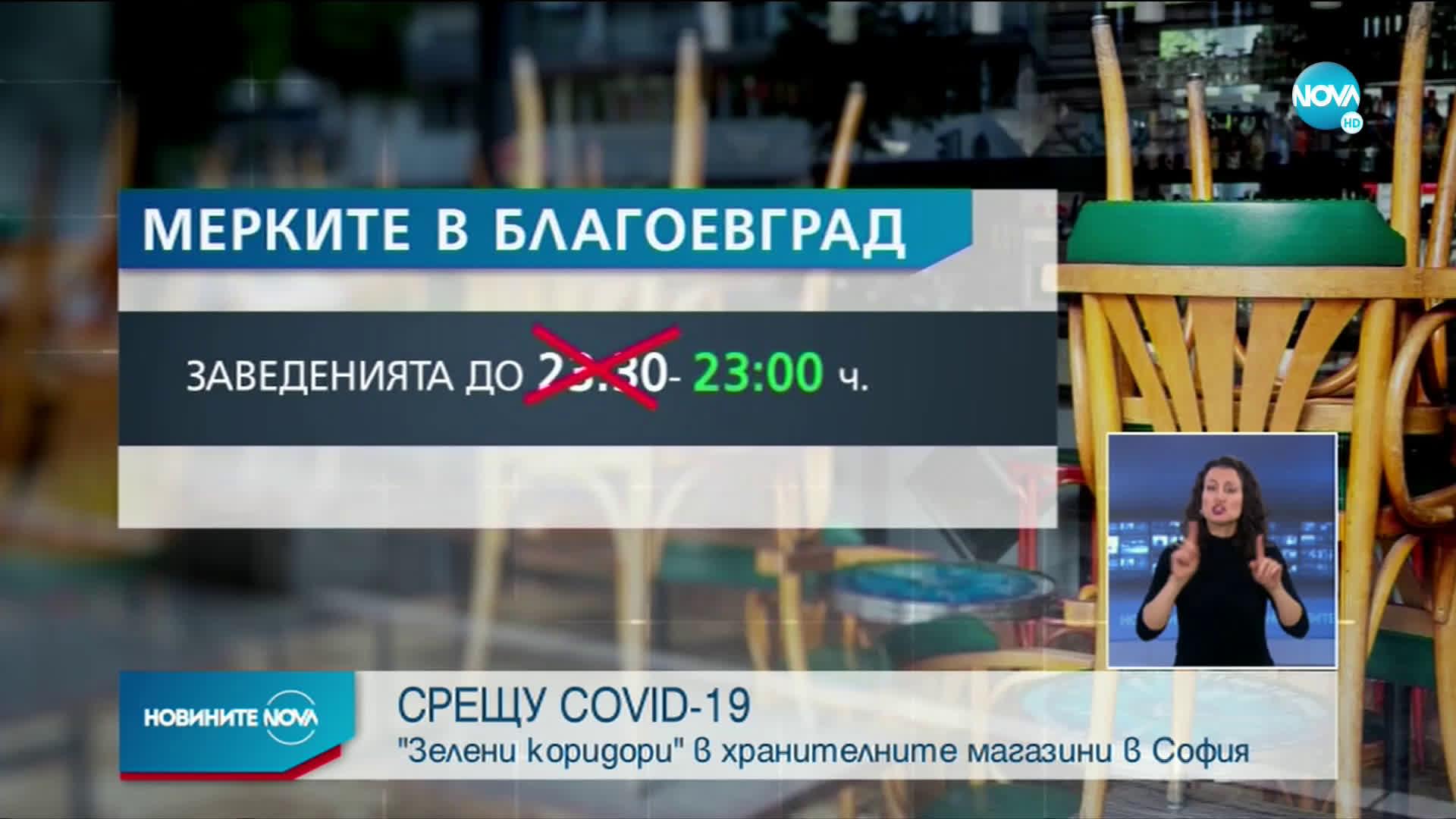 От днес в София влизат в сила нови мерки срещу коронавируса