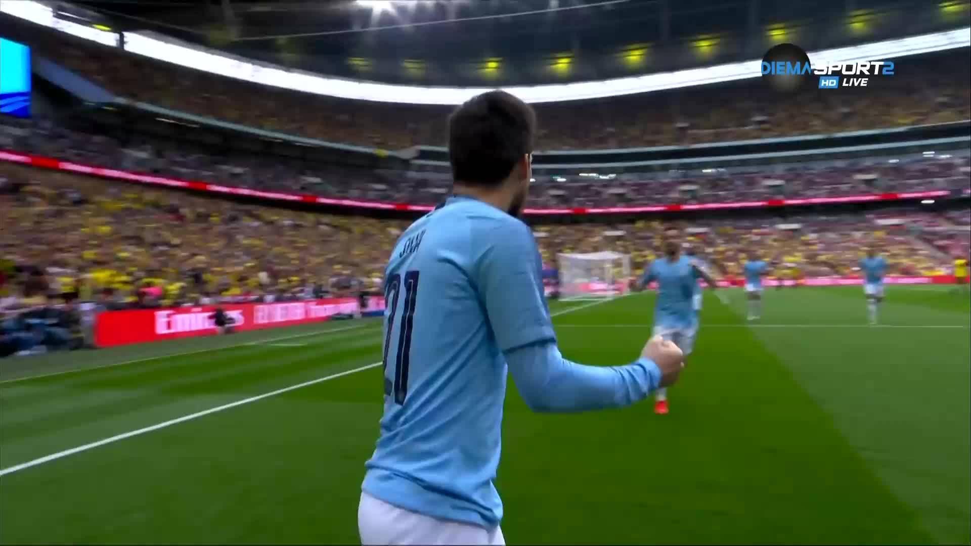 Давид Силва подбра идеален миг за първия си гол през 2019-а