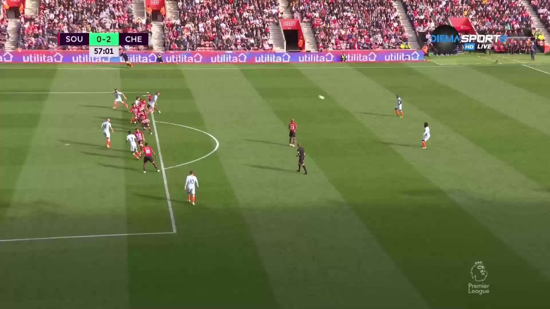 Челси удвои преднината си срещу Саутхемптън