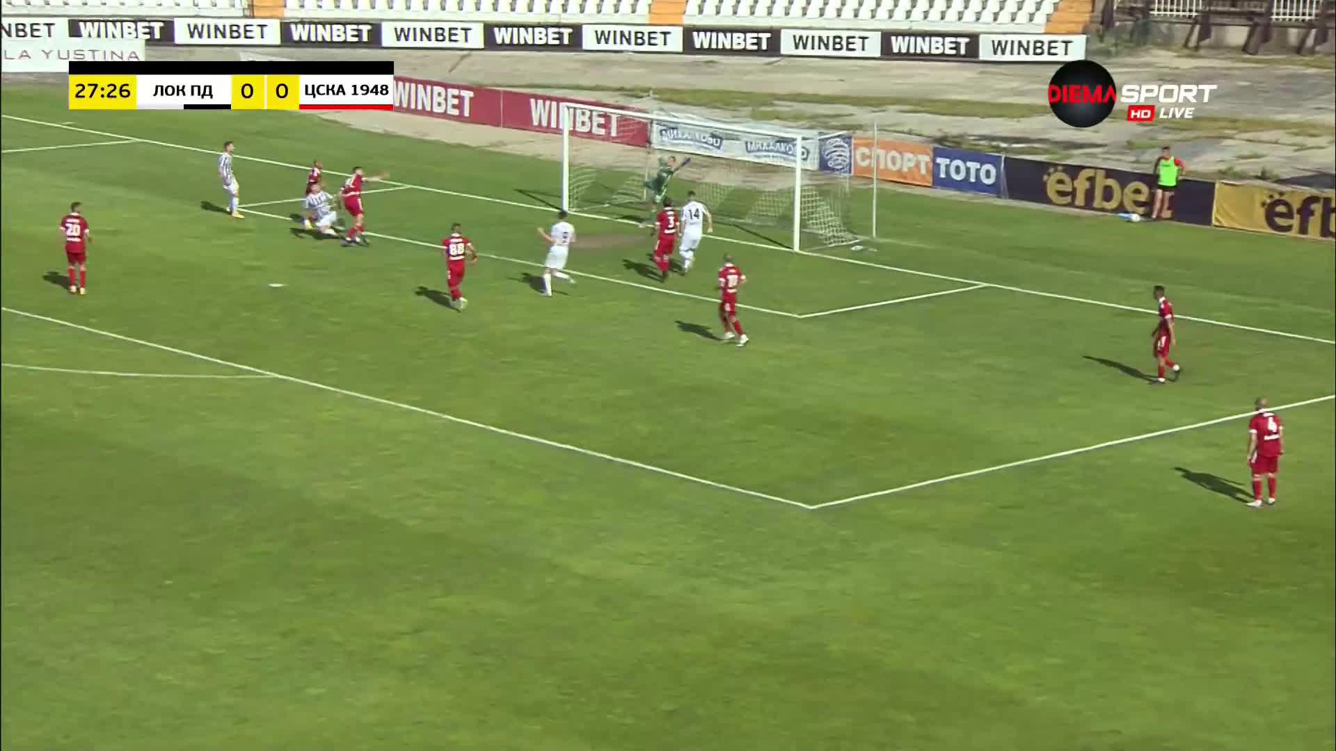 Локомотив Пловдив - ЦСКА 1948 0:0 /репортаж/