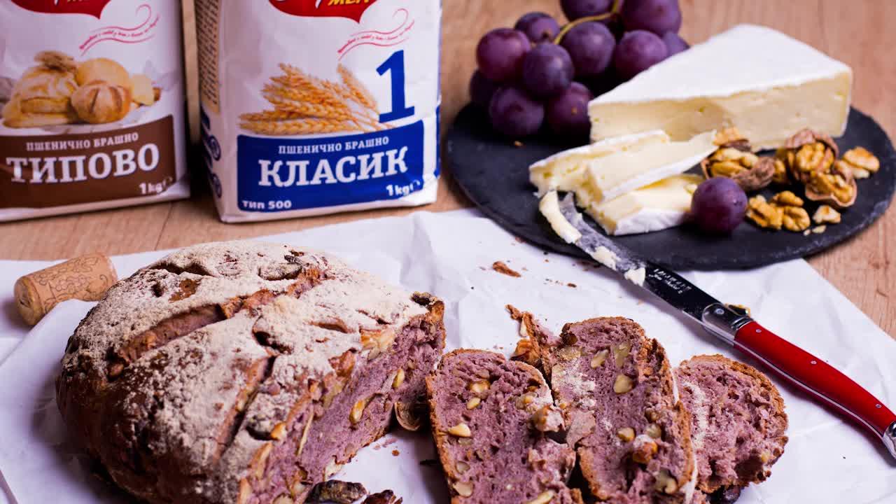 Goodlife: Хляб с вино и орехи