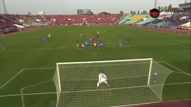 ЦСКА - Левски 1:1, Първа лига, 10-и кръг