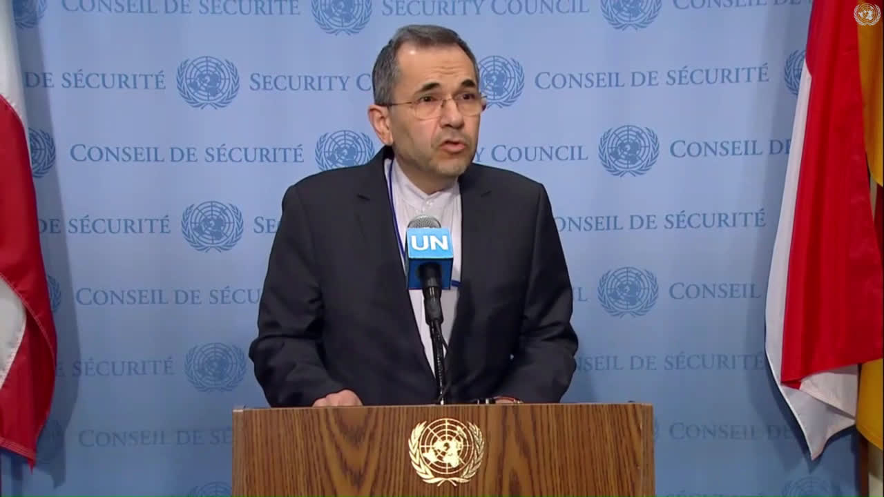 UN: \'No way that Iran and the US can start a dialogue\' under threat of sanctions - Iran\'s UN Amb.