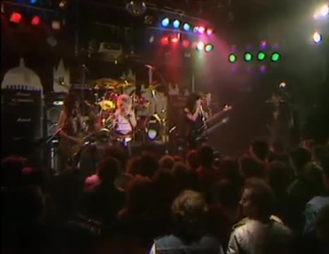 Girlschool live from London 1984