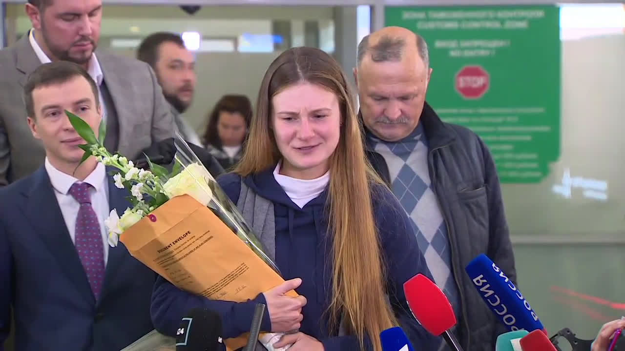 \'Russians don\'t give up\' - Maria Butina speaks on return to Moscow
