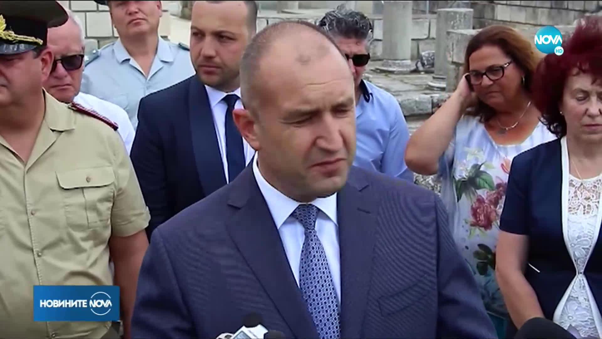 Президентът с нови критики към прокуратурата