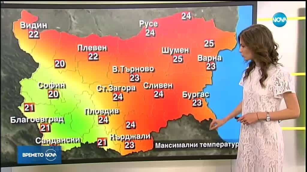 Прогнозата за времето: Кога ще се затопли трайно?