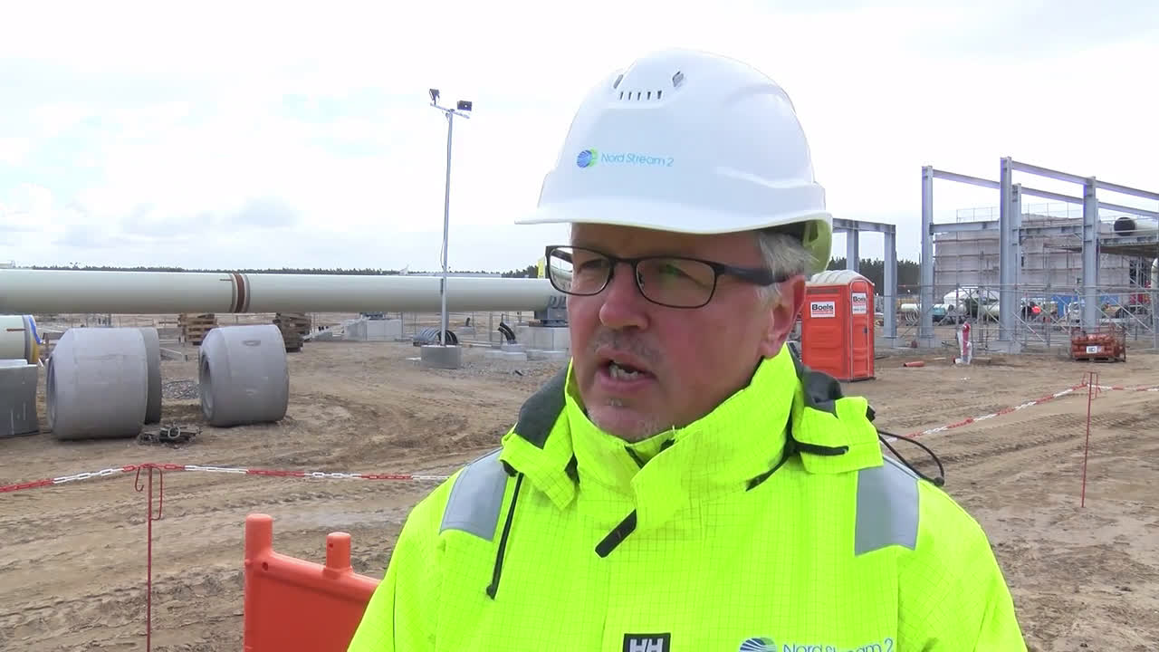 Germany: Nord Stream 2 construction moving according to schedule