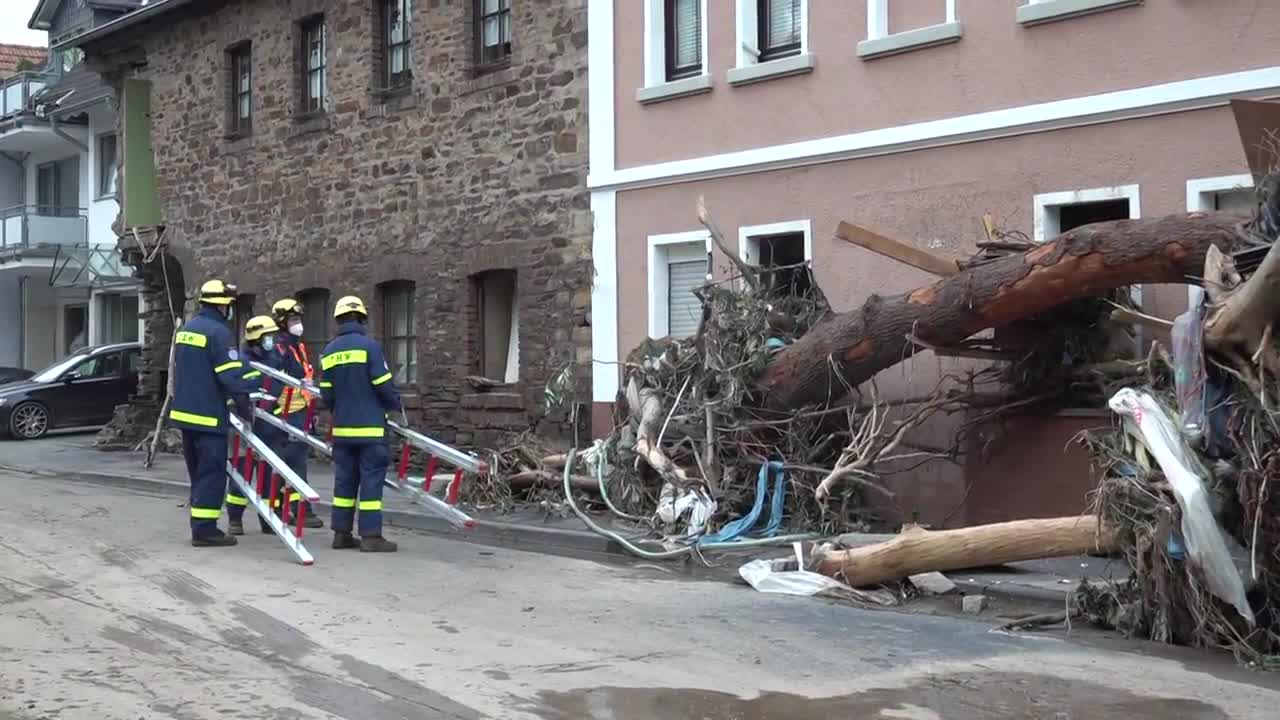 Germany: Deadly flooding leaves houses ruined, vehicles stuck in Rhineland-Palatinate's Ahrweiler