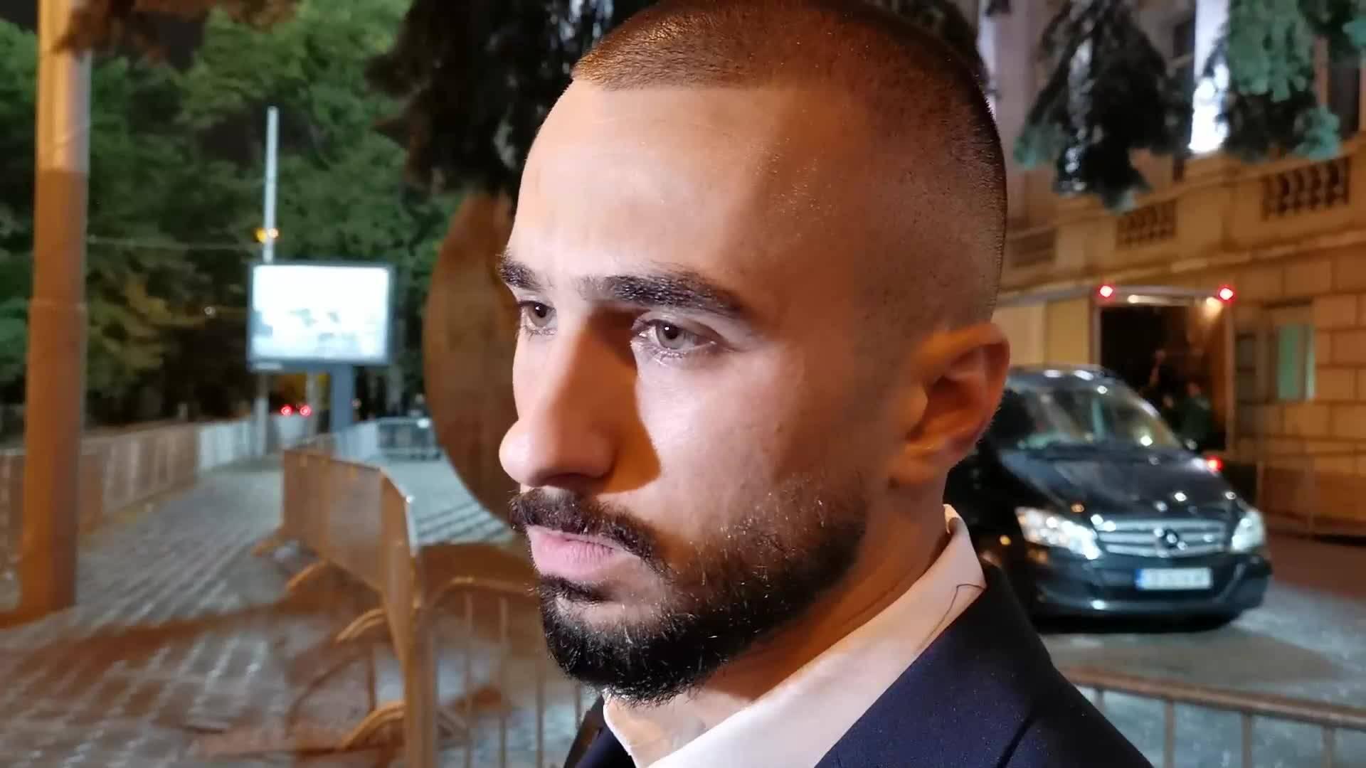 Георги Йомов след дебюта си за България