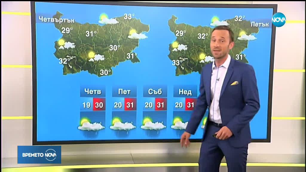 Прогноза за времето (12.06.2019 - сутрешна)