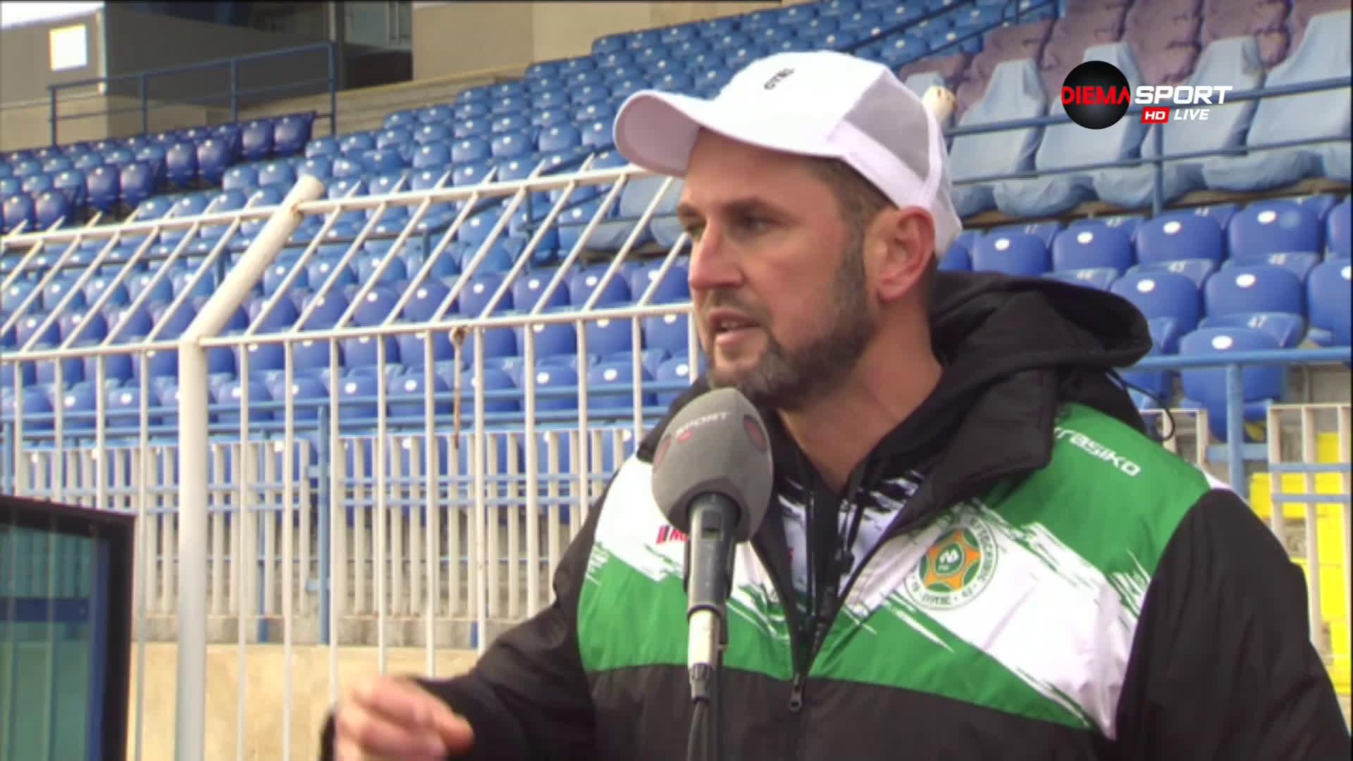 Треньорът на Нафтата втрещи българския футбол с изказвания за клуба