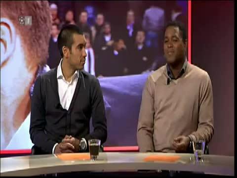 Lukoki doet panna bij Tim de Cler (ajax - Feyenoord 2 - 0) Woensdag 19 januari 2011