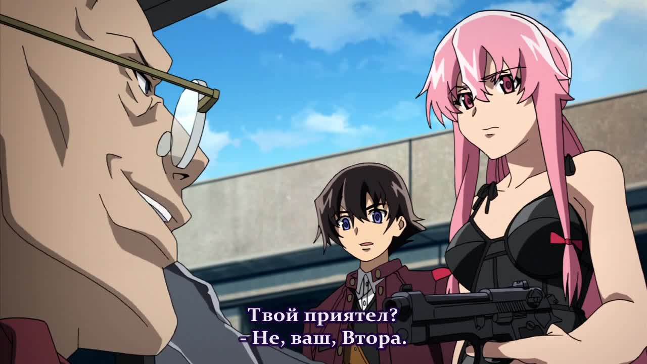 [ Bg Subs ] Mirai Nikki - 19 [ Ice Fan Subs ]