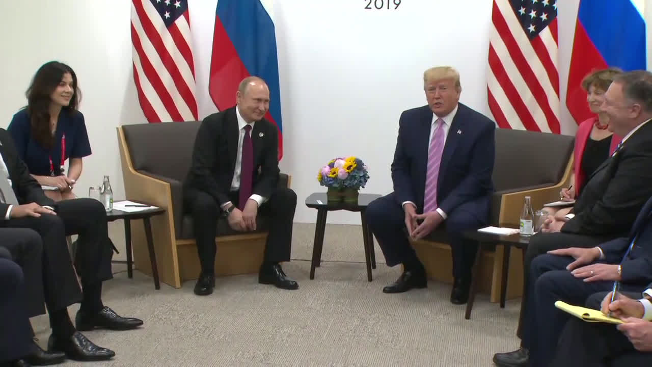 Japan: \'Don\'t meddle in the election\' - Trump tells Putin to his face
