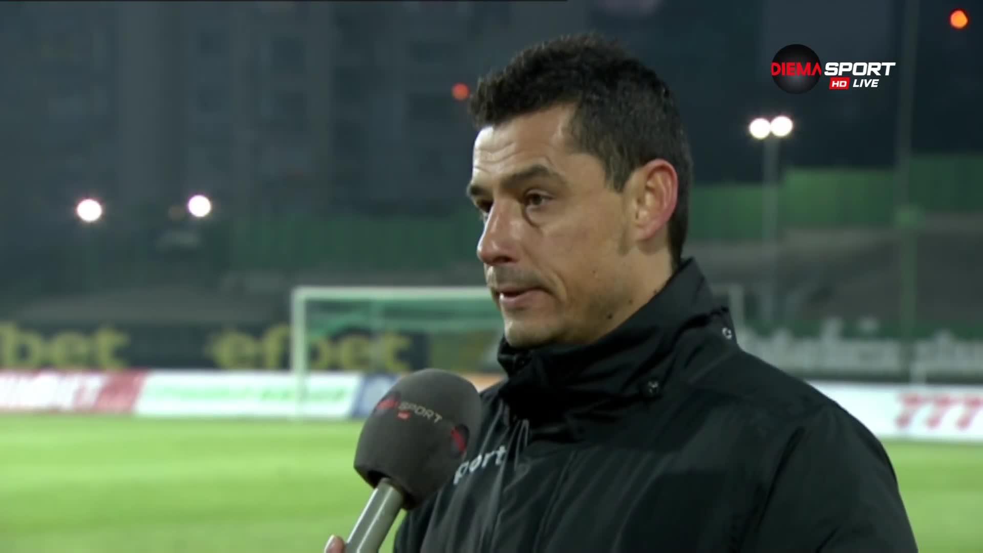 Томаш: Страх ни е да играем футбол