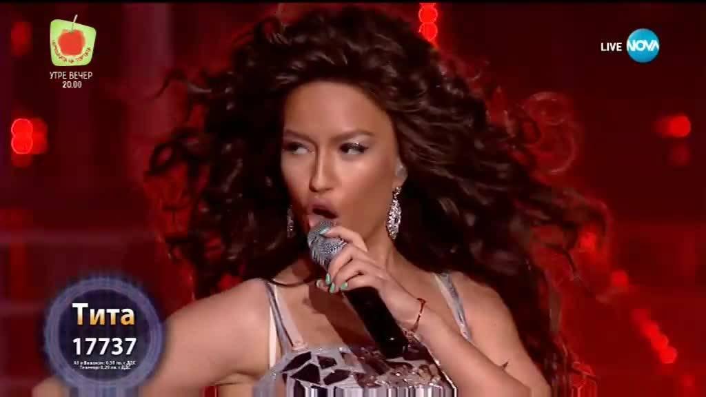 "Тита като Beyoncé - ""Crazy In Love""   Като две капки вода"