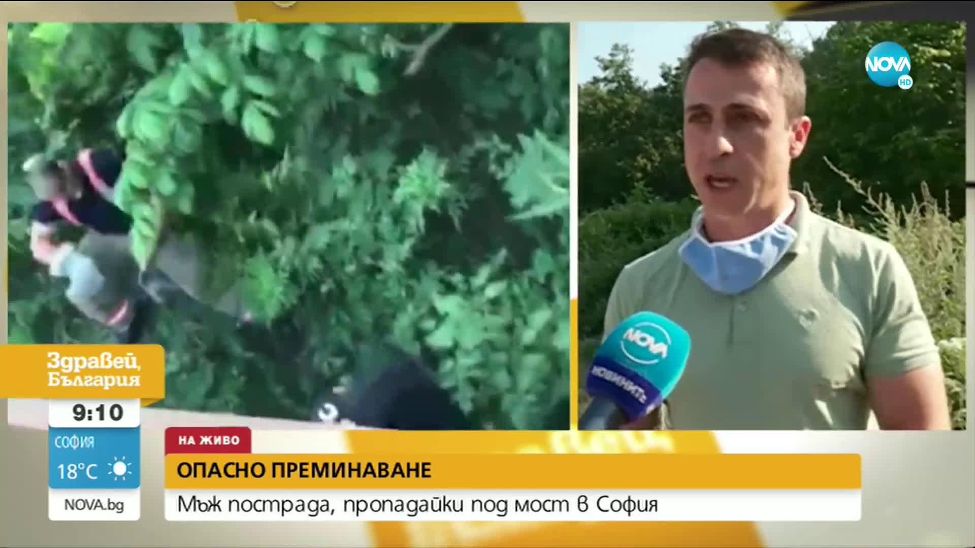 """Мъж пропадна под мост в столичния квартал """"Княжево"""""""