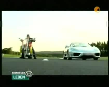 Boss Hoss Vs Ferrari в