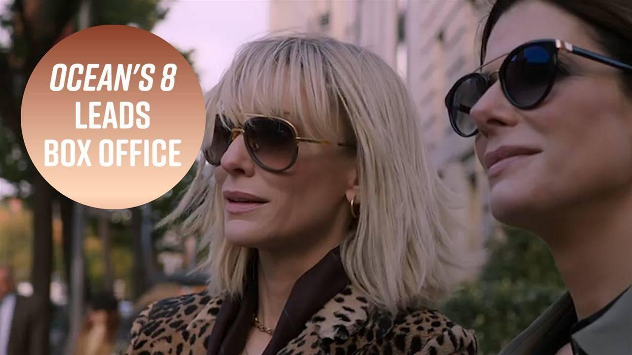 """""""Бандитките на Оушън"""" дебютира на върха на американската box office класация"""