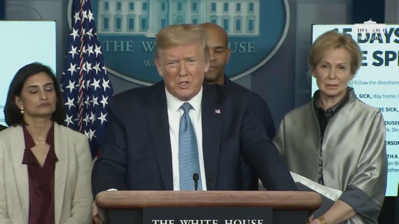USA: Trump praises his efforts in handling coronavirus, adds crisis could last until August