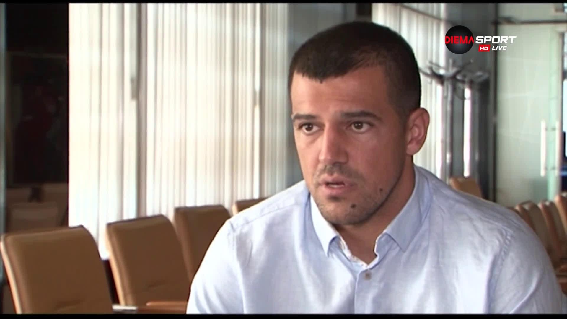 Иван Караджов за тежките моменти във футбола