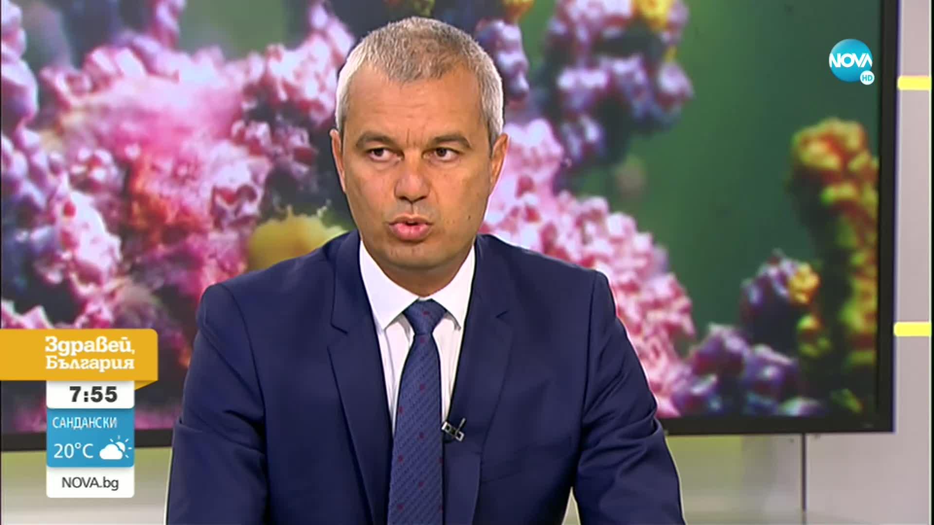Костадин Костадинов: Като суверенна държава трябва сами да охраняваме границата си