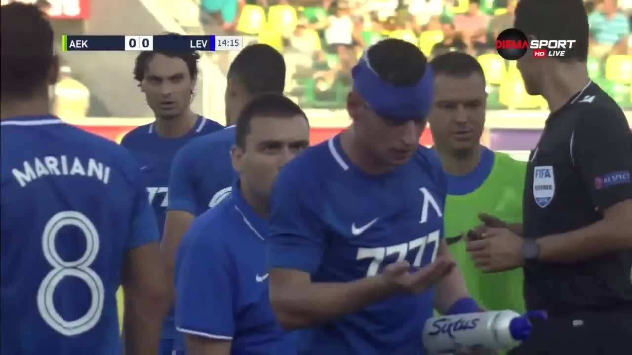 АЕК Ларнака - Левски 3:0 /репортаж/