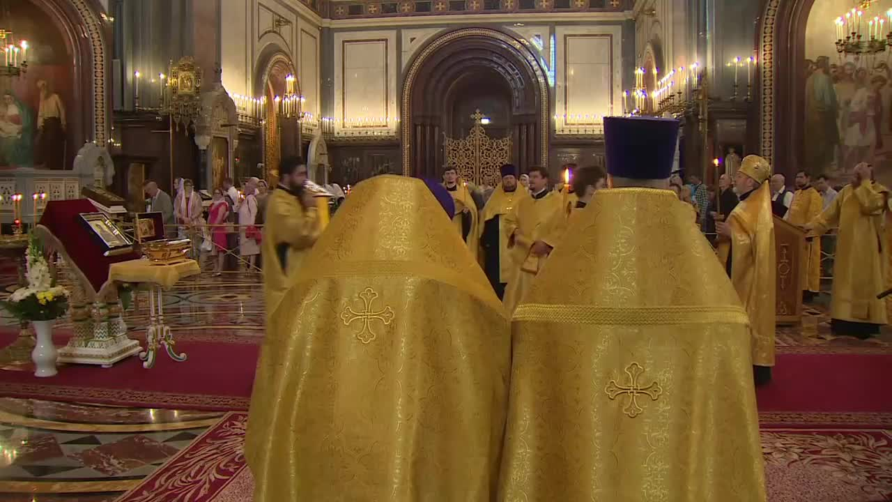 Russia: All-night vigil celebrates Baptism of Rus' anniversary