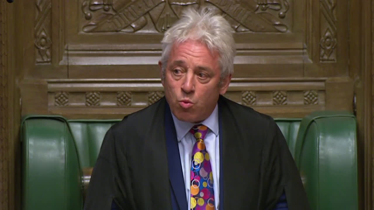 UK: House of Commons speaker John Bercow to step down by October 31