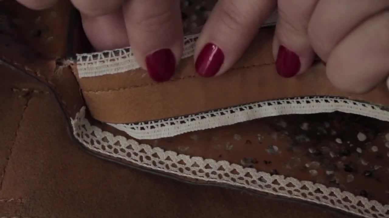 Мисия: Спасяване на съсипани дръжки за чанта