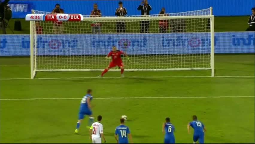 Италия - България 1:0, евроквалификация