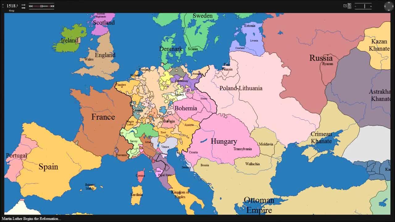 Kak Se E Promenila Evropa Prez Vekovete Hh Vbox7