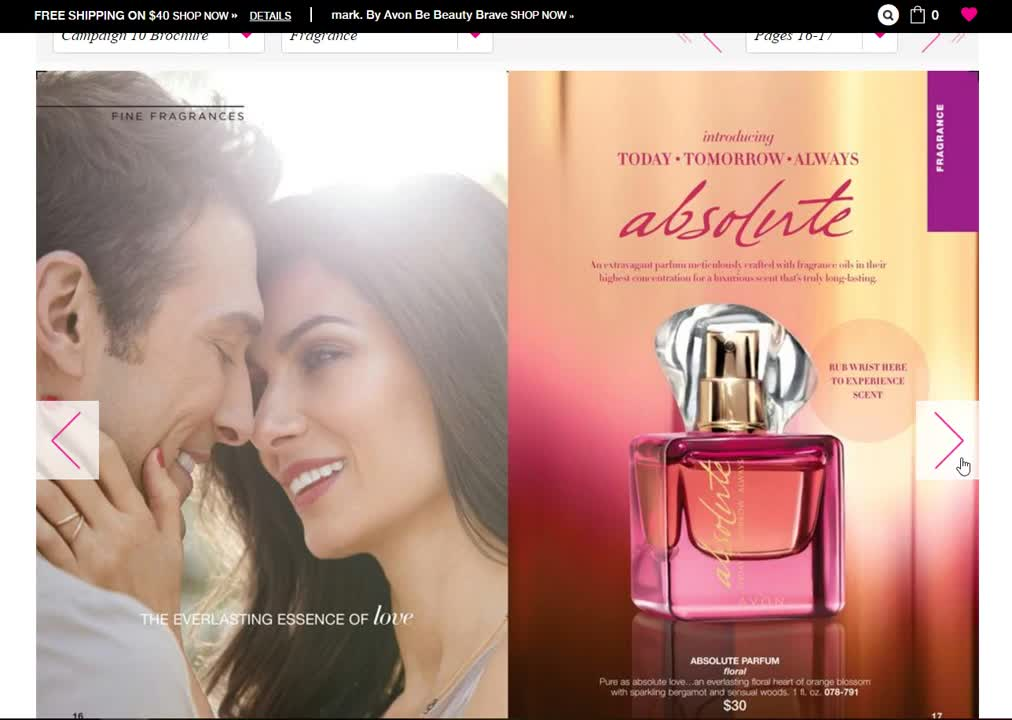 How Where To Shop Avon Catalog Online - New Avon Brochure Campaign - Vbox7