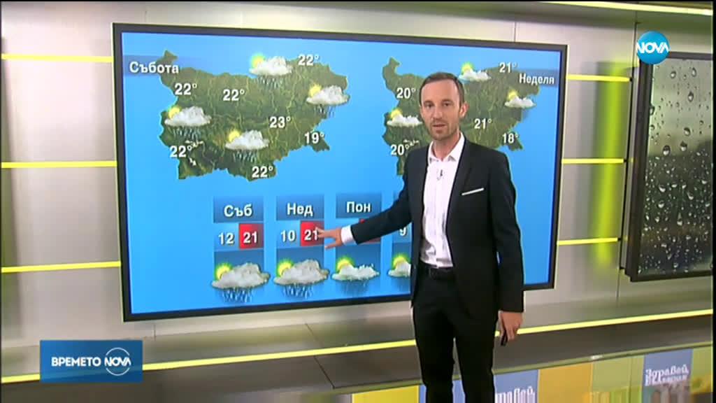 Прогноза за времето (01.05.2020 - сутрешна)