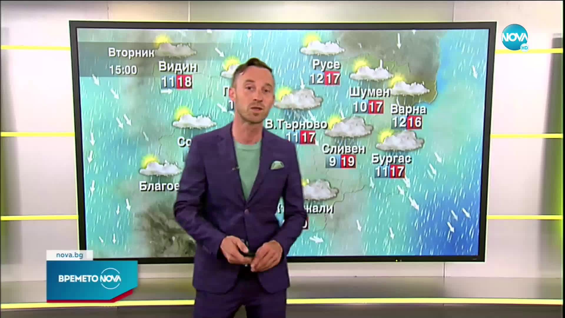 Прогноза за времето (01.06.2021 - сутрешна)