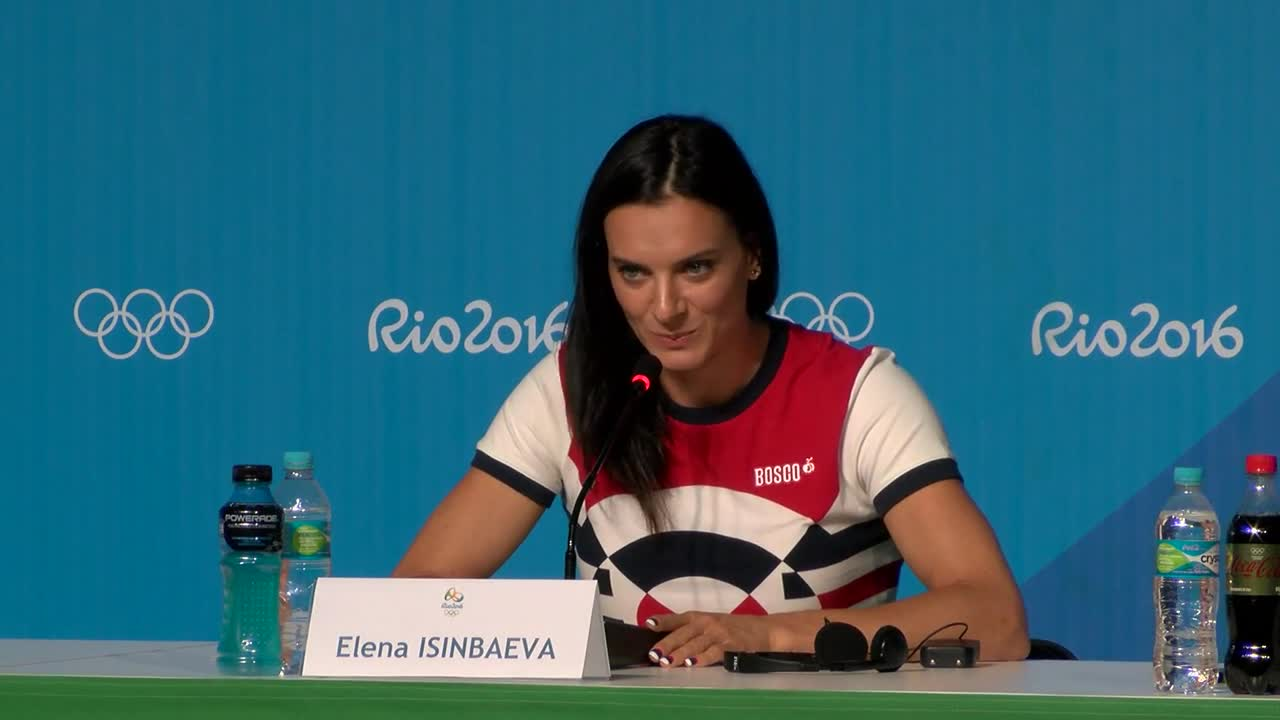 Brazil: \'My professional career is over\' - double Olympic champion Isinbayeva