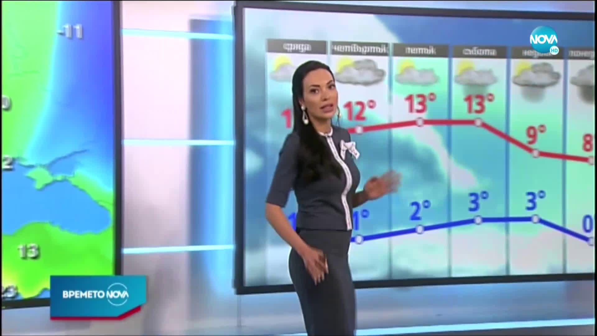 Прогноза за времето (24.02.2021 - обедна емисия)