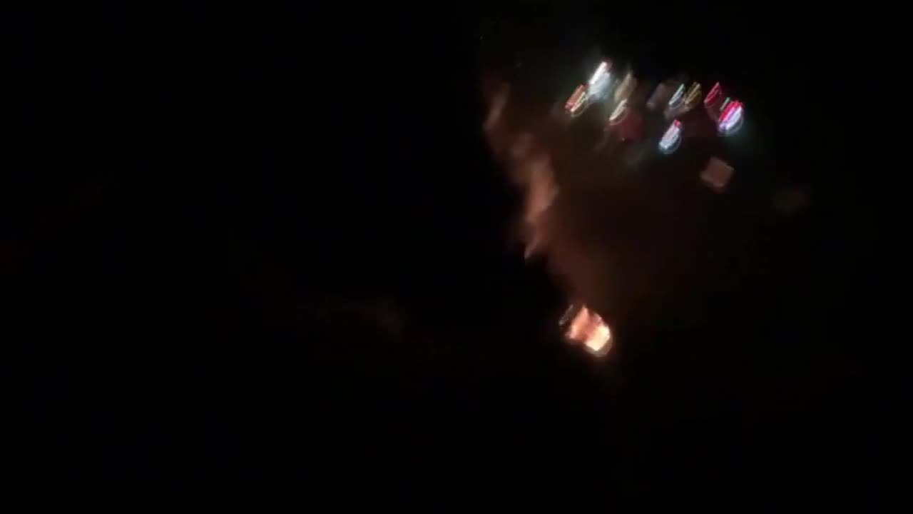 Mexico: Aerial view of fire following deadly pipeline explosion