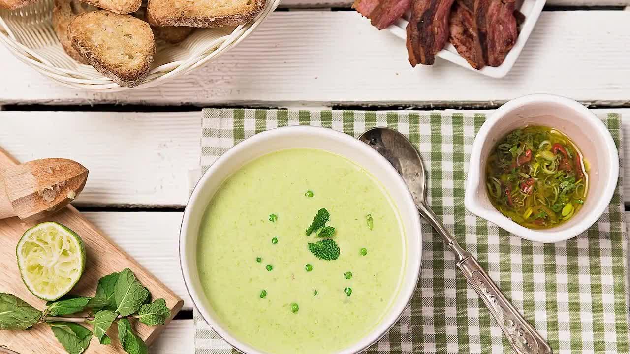 Goodlife: Крем супа от грах с бекон