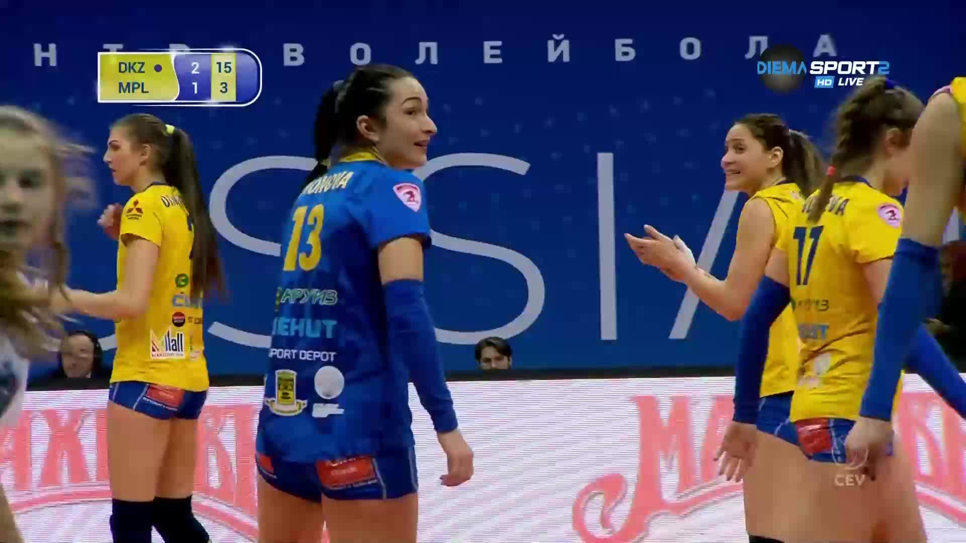 Динамо унизи Марица в четвъртия гейм
