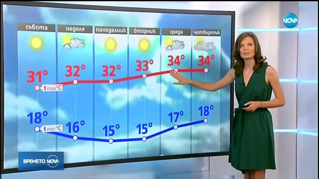 Прогноза за времето (10.08.2018 - централна емисия)